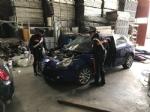 BORGARO-CASELLE-MAPPANO - Nellofficina abusiva venivano smontate le auto rubate: due arresti - immagine 5