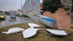 BORGARO - Teppisti in azione: vandalizzato il monumento al Grande Torino - LE FOTO - immagine 5