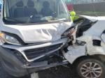 BORGARO-VENARIA - Tamponamento in tangenziale: quattro auto e un furgone. Due i feriti - immagine 6