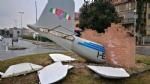 BORGARO - Teppisti in azione: vandalizzato il monumento al Grande Torino - LE FOTO - immagine 6