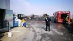 PIANEZZA - Incendio alla «Omnia Recuperi»: situazione sotto controllo. Arpa: «nessun pericolo» - immagine 7