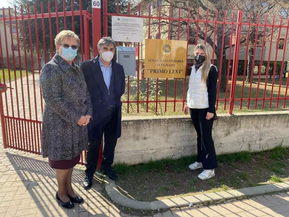 RIVOLI - Conclusi i lavori di edilizia scolastica nelle scuole Gobetti, Neruda e Primo Levi