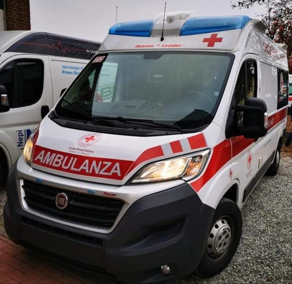 DRUENTO - La Croce Rossa inaugura l'ambulanza, nel ricordo di Daniela Vailati