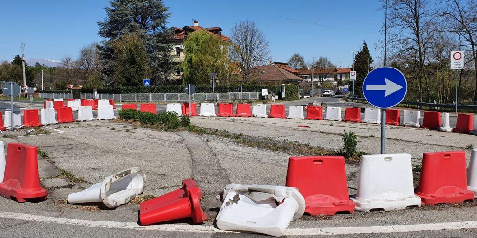 VENARIA - Entro luglio la realizzazione della rotonda della Reggia, oggi vero simbolo di degrado