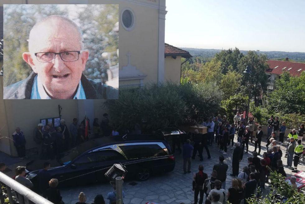 GIVOLETTO - Un rombo di motori per l'ultimo saluto ad Andrea Mandrini
