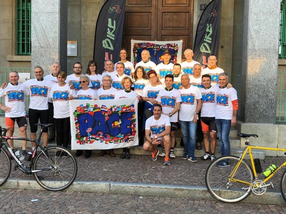 VENARIA - Comune, Pro Loco e FreeBike insieme alla «Giornata mondiale dei Giovani per la Pace»