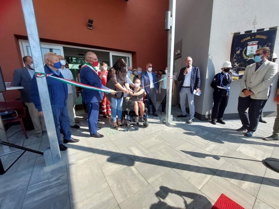 DRUENTO - Taglio del nastro per la Rsa «Le Corti»: potrà ospitare fino a 120 pazienti - FOTO