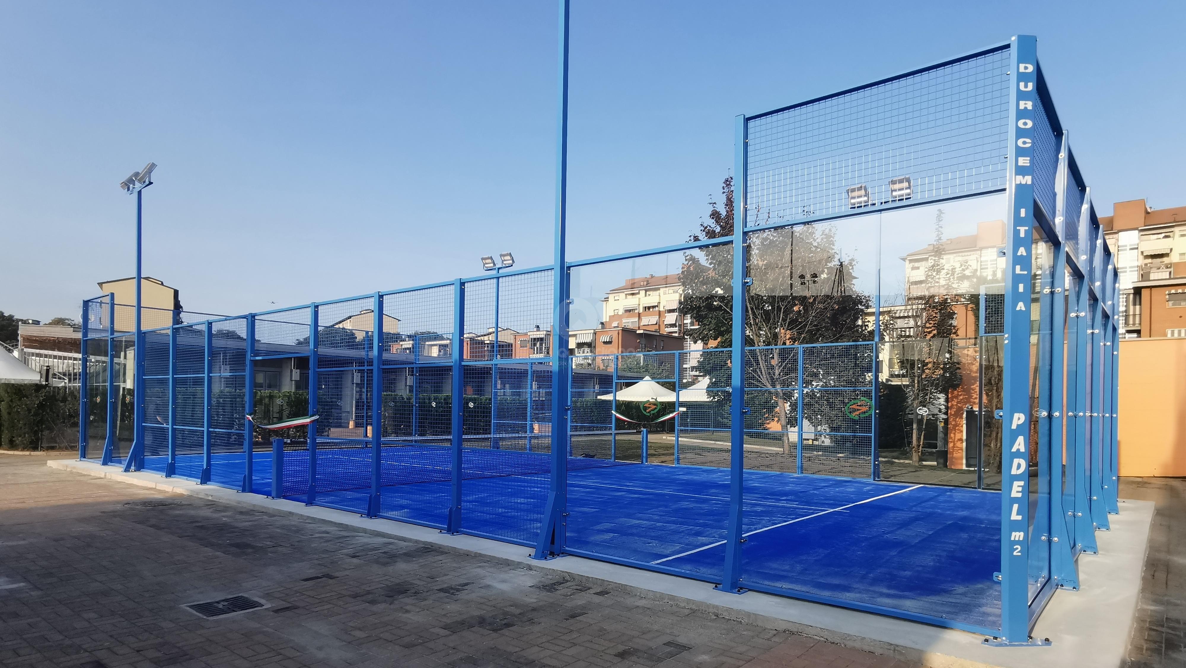 VENARIA - Taglio del nastro per i campi da paddle e del campo da basket allo «Sport Club» - FOTO