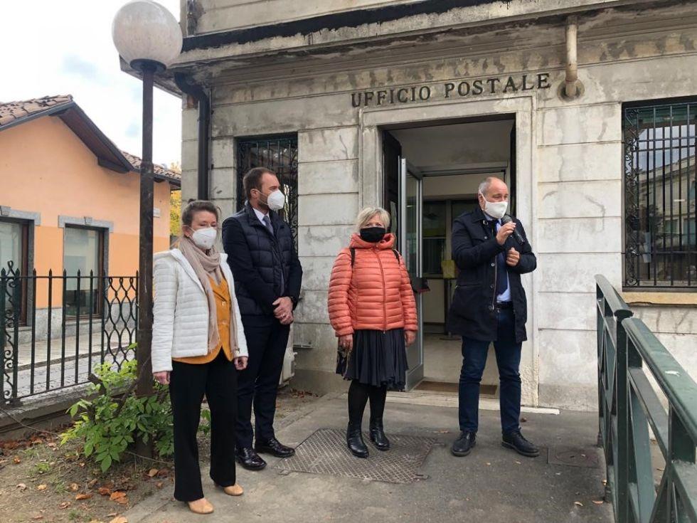 COLLEGNO - Dopo gli interventi di manutenzione, riaperto l'ufficio postale di via Martiri XXX Aprile