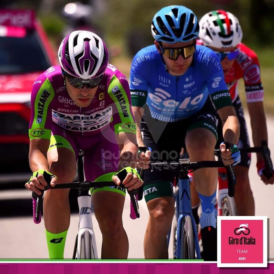 COLLEGNO - Marengo protagonista al Giro: fuga di di 164 km e vittoria in due traguardi volanti