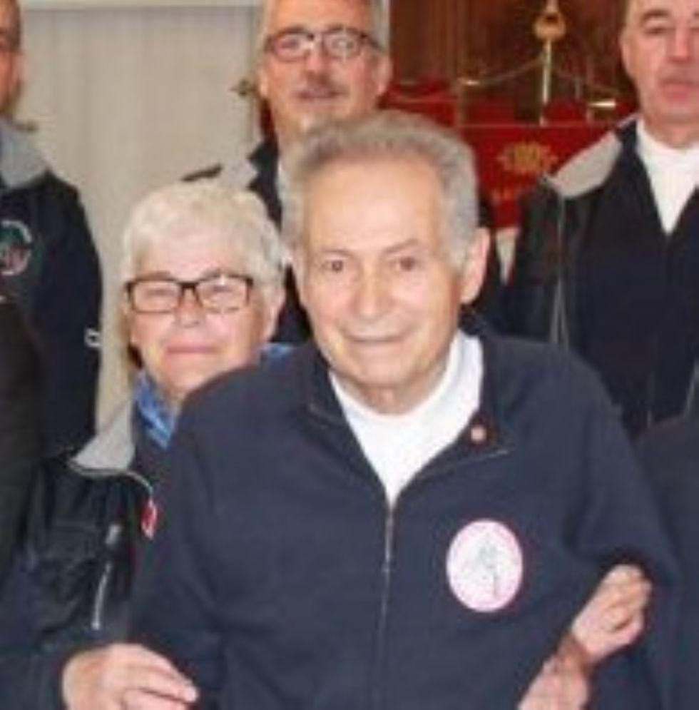DRUENTO - La comunità è in lutto per la morte di Mario Culla, storico presidente della Fidas