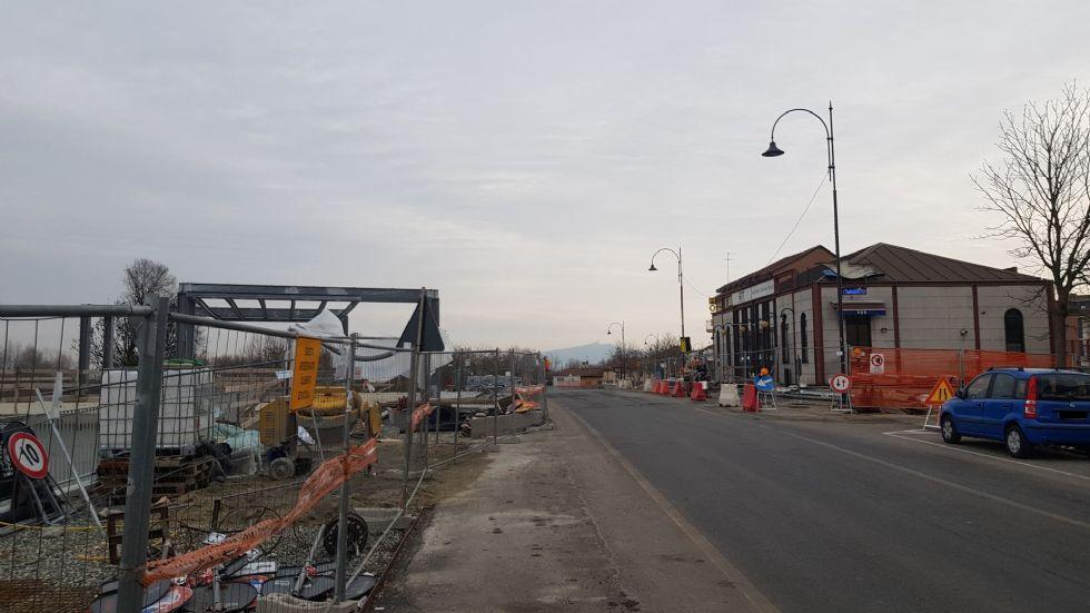 VENARIA - Restyling della passerella Mazzini, rifacimento strade e Movicentro: ecco i lavori 2021