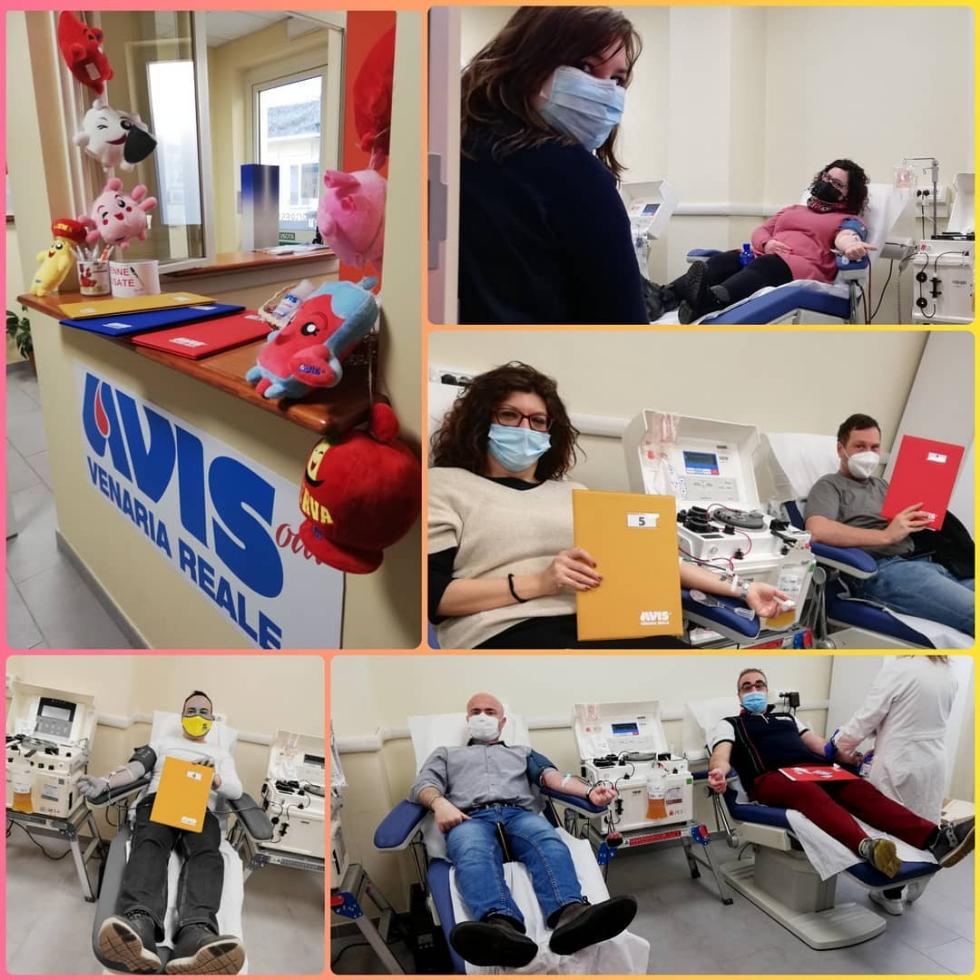 VENARIA - Domenica 21 febbraio nuova donazione di sangue intero all'Avis