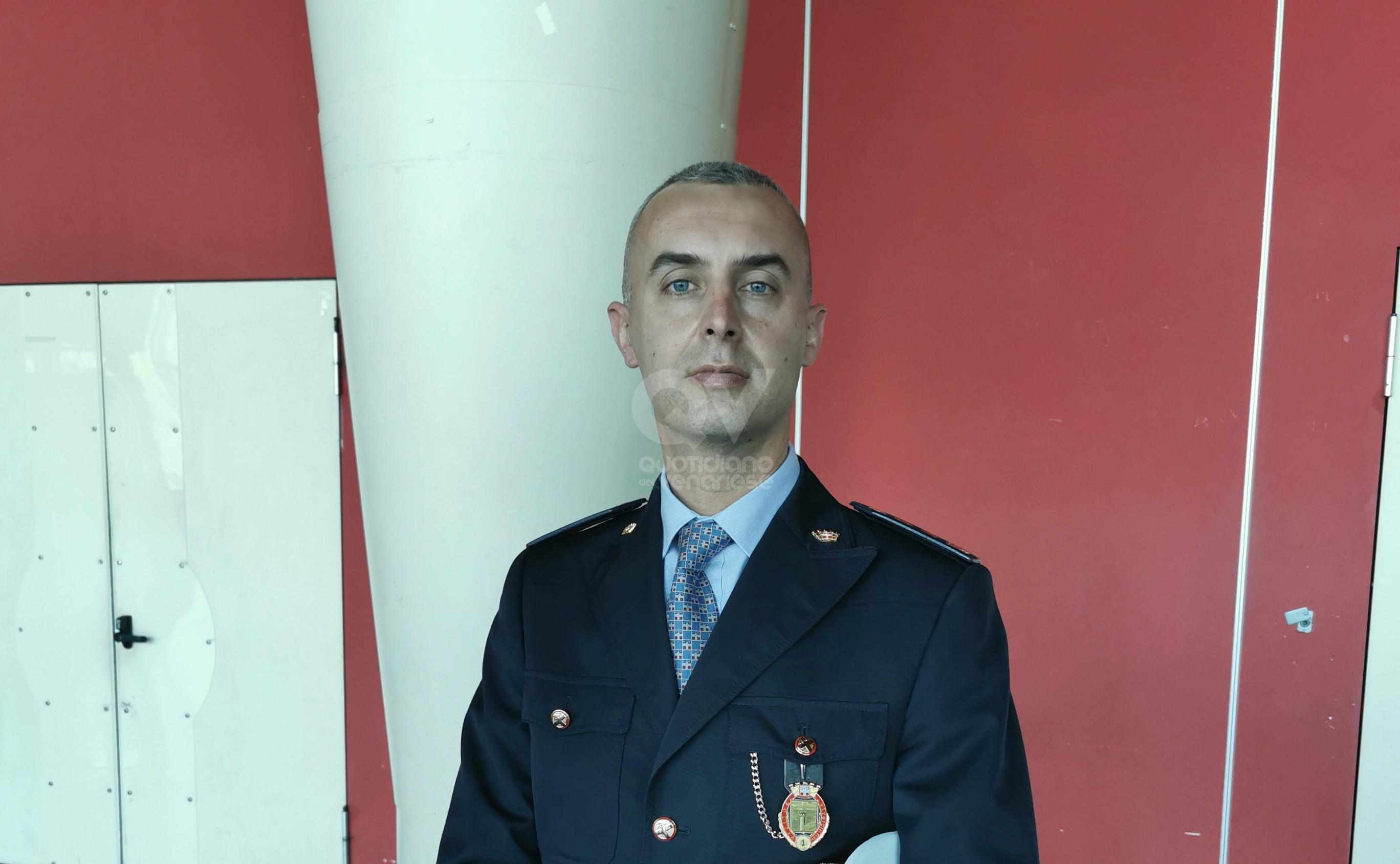 VENARIA - Alberto Pizzocaro è il nuovo comandante della polizia locale
