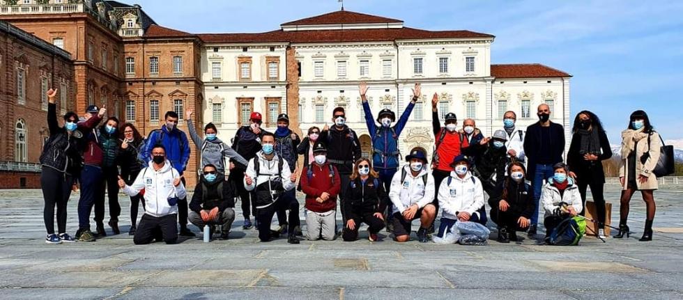 VENARIA - La Città e la Reggia hanno accolto i ragazzi che a maggio incontreranno il Papa