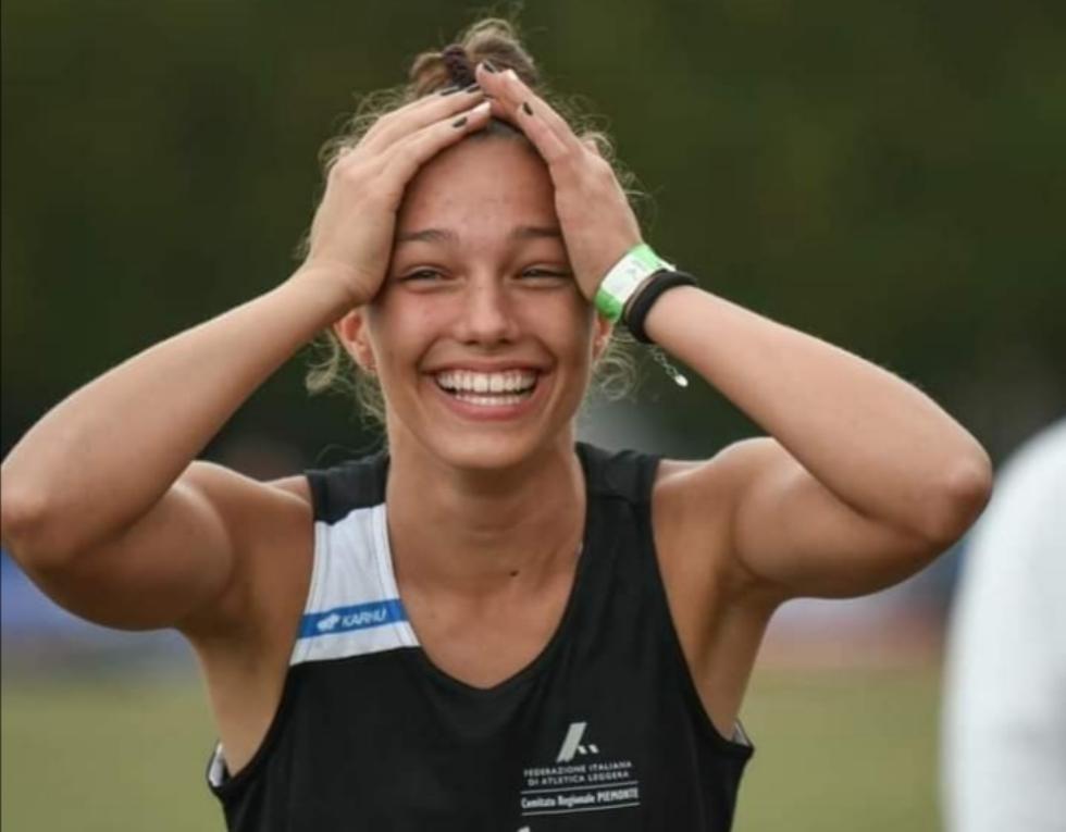 VENARIA - Alice Gaggini, vanto sportivo della Reale: campionessa nazionale di salto in lungo