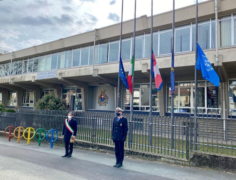 COLLEGNO-RIVOLI-BORGARO - Le città ricordano le vittime del Covid-19
