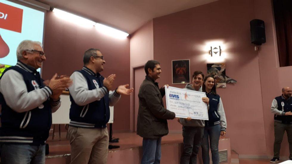 VENARIA - L'Avis premia gli studenti donatori di sangue del liceo Juvarra