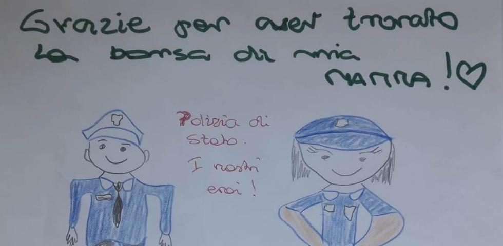 RIVOLI - Rubano lo zaino con dentro la colletta dei parenti: ritrovata da polizia e Croce Verde