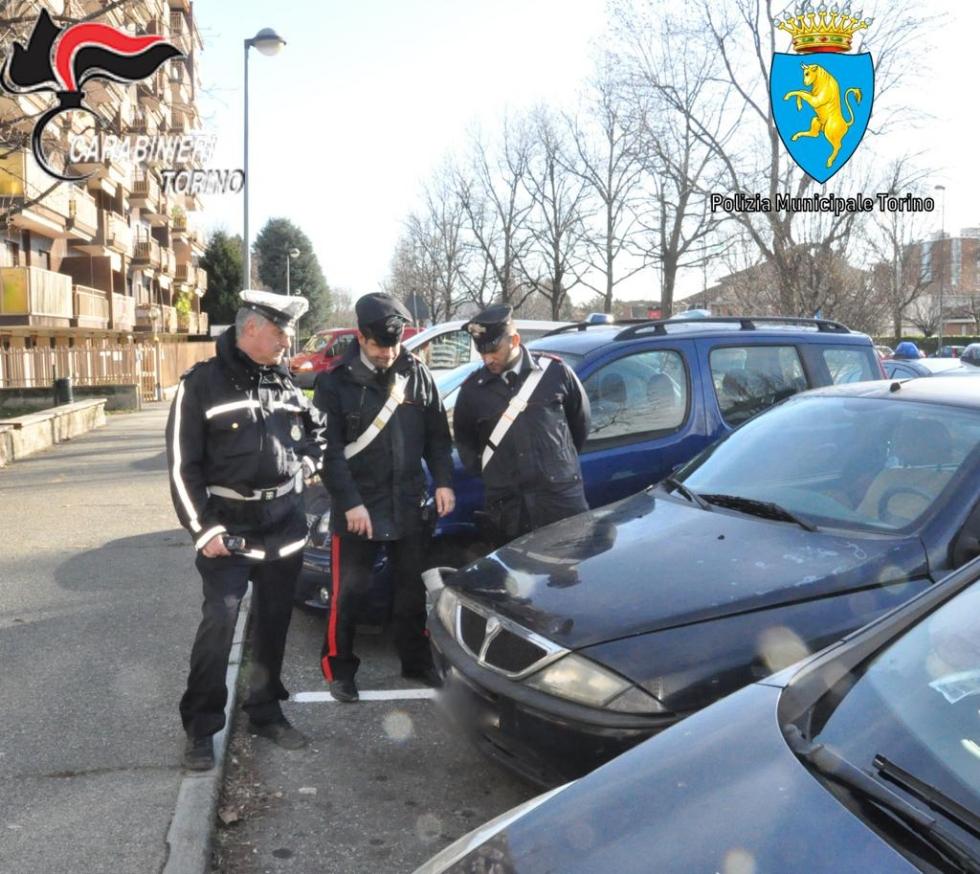 GRUGLIASCO - Investe il rider di Glovo e fugge: l'auto trovata in corso Torino. Lui arrestato