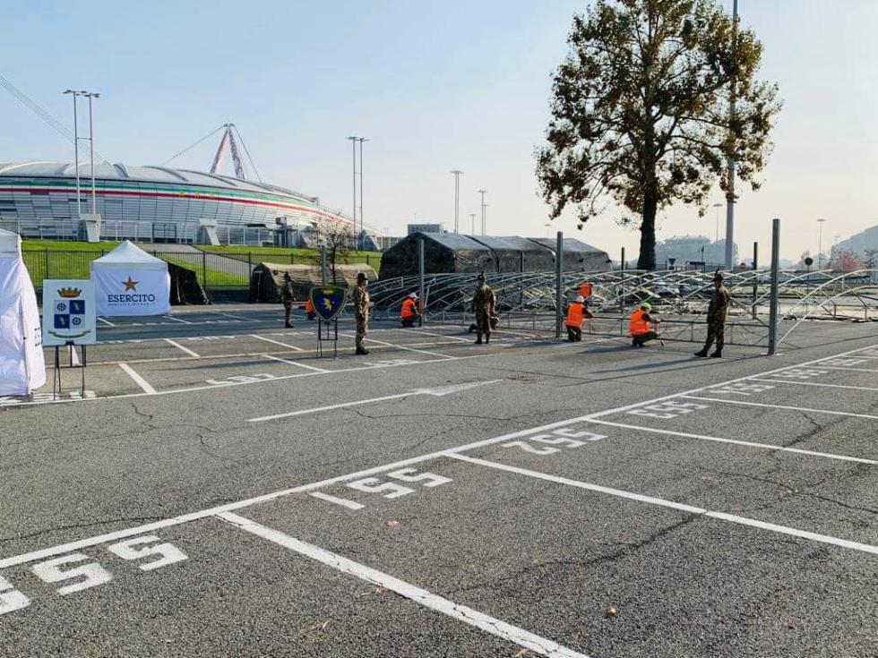 TORINO-VENARIA - Da domani le vaccinazioni anche nell'hotspot dell'Allianz Stadium