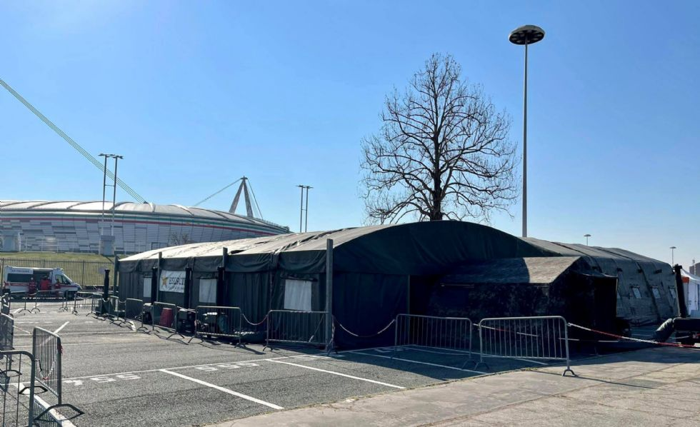 TORINO-VENARIA - Attivo il nuovo punto vaccinale dell'Allianz Stadium: oggi 100 dosi inoculate