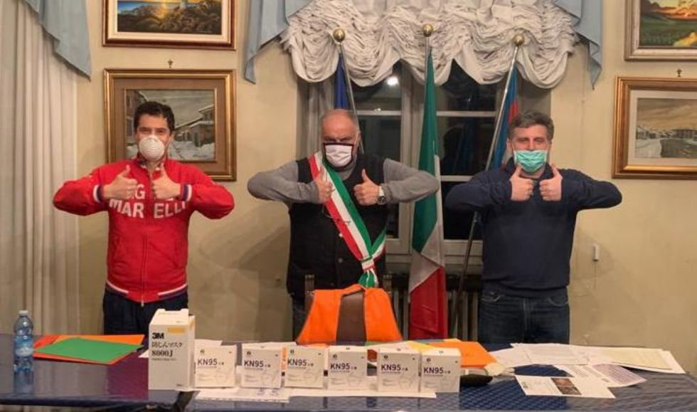DRUENTO - Arrivano le mascherine grazie alla generosità di due benefattori