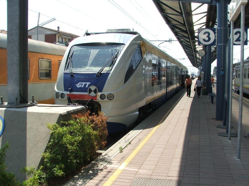 ALLERTA MALTEMPO - Fiumi ingrossati: stop ai treni della Torino-Ceres fino alla stazione di Ciriè