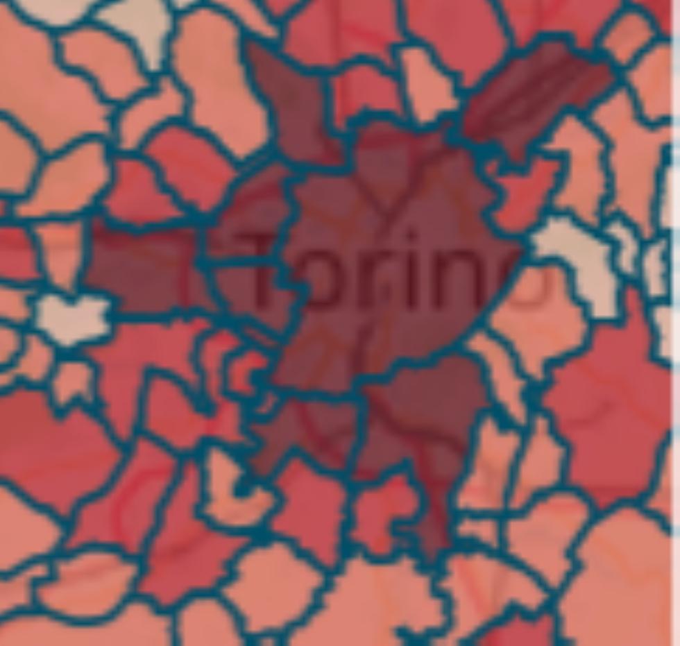 MAPPA CORONAVIRUS - I contagi salgono di poco: 2532 casi - I DATI NEI COMUNI