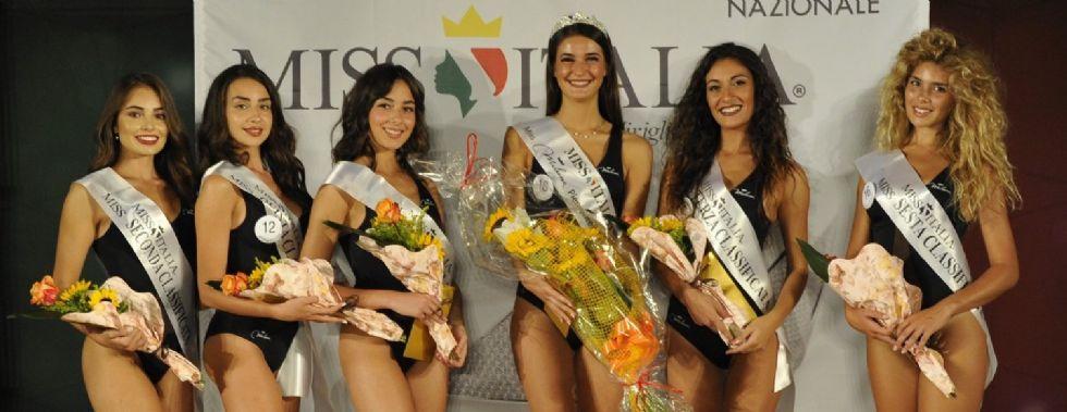 BORGARO - MISS ITALIA: La bellezza di Marzia Angustaro ha stregato Borgaro. E' lei Miss Miluna