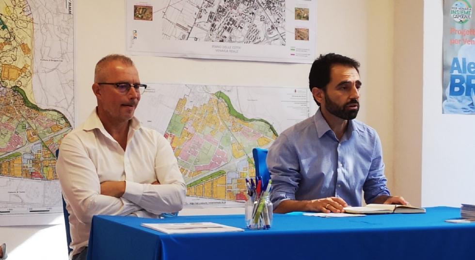 VENARIA - Uniti per Cambiare e Sinistra Civica pro Schillaci, Capogna lascia libertà di voto
