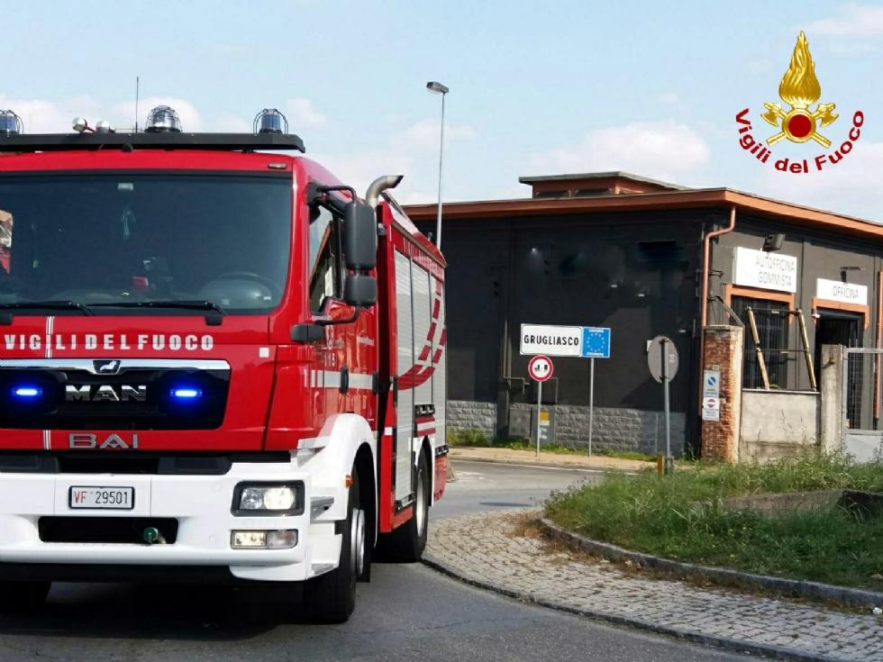 RIVOLI - Fuga di gas in via Acqui: zona isolata e intervento di pompieri e tecnici del gas