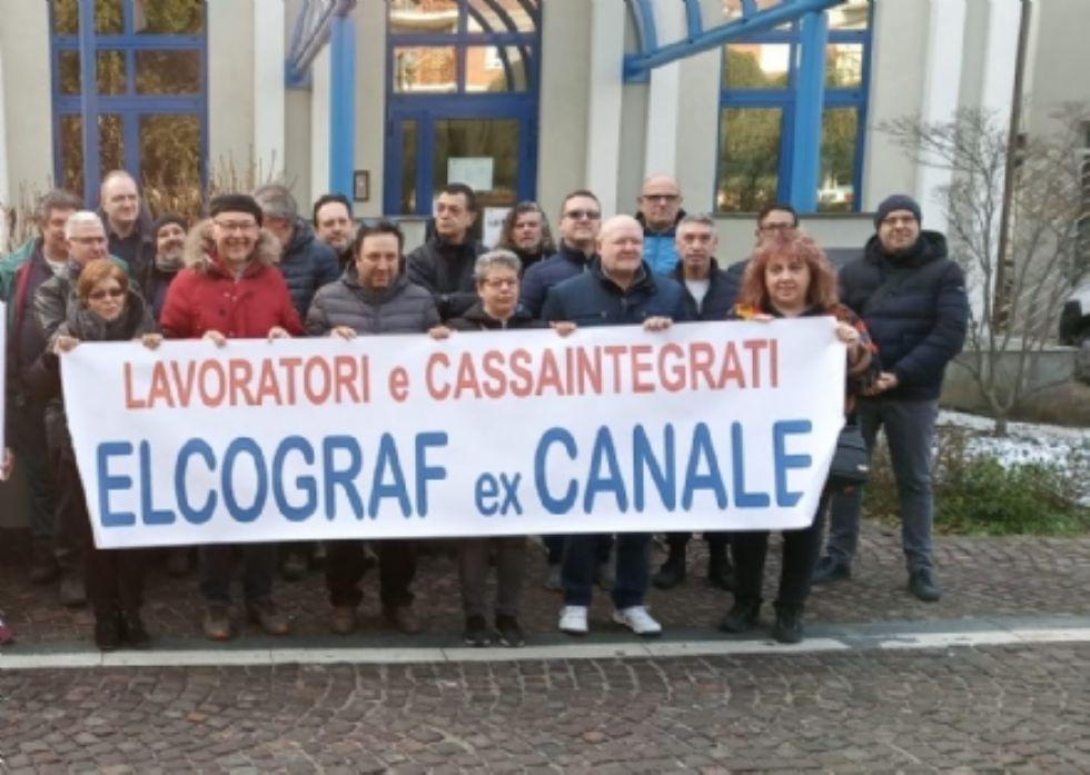 BORGARO - Crisi Elcograf: per 42 dipendenti si aprono le porte del prepensionamento