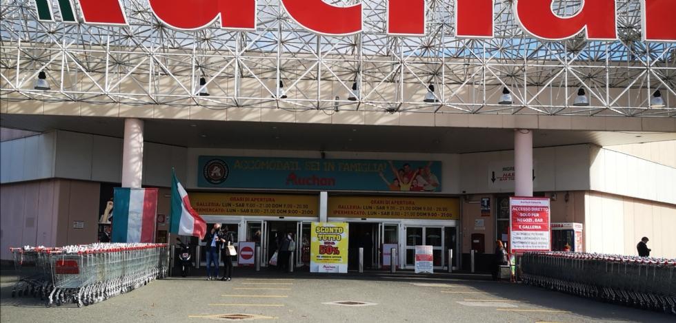 VENARIA - Futuro ex Auchan: firmato l'accordo sindacale. Tutti i lavoratori verranno ricollocati