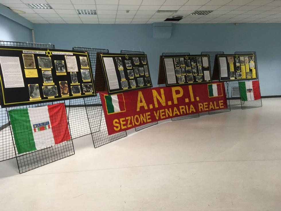 VENARIA - «Bambini nel vento»: la mostra dell'Anpi alla Don Milani per il Giorno della Memoria