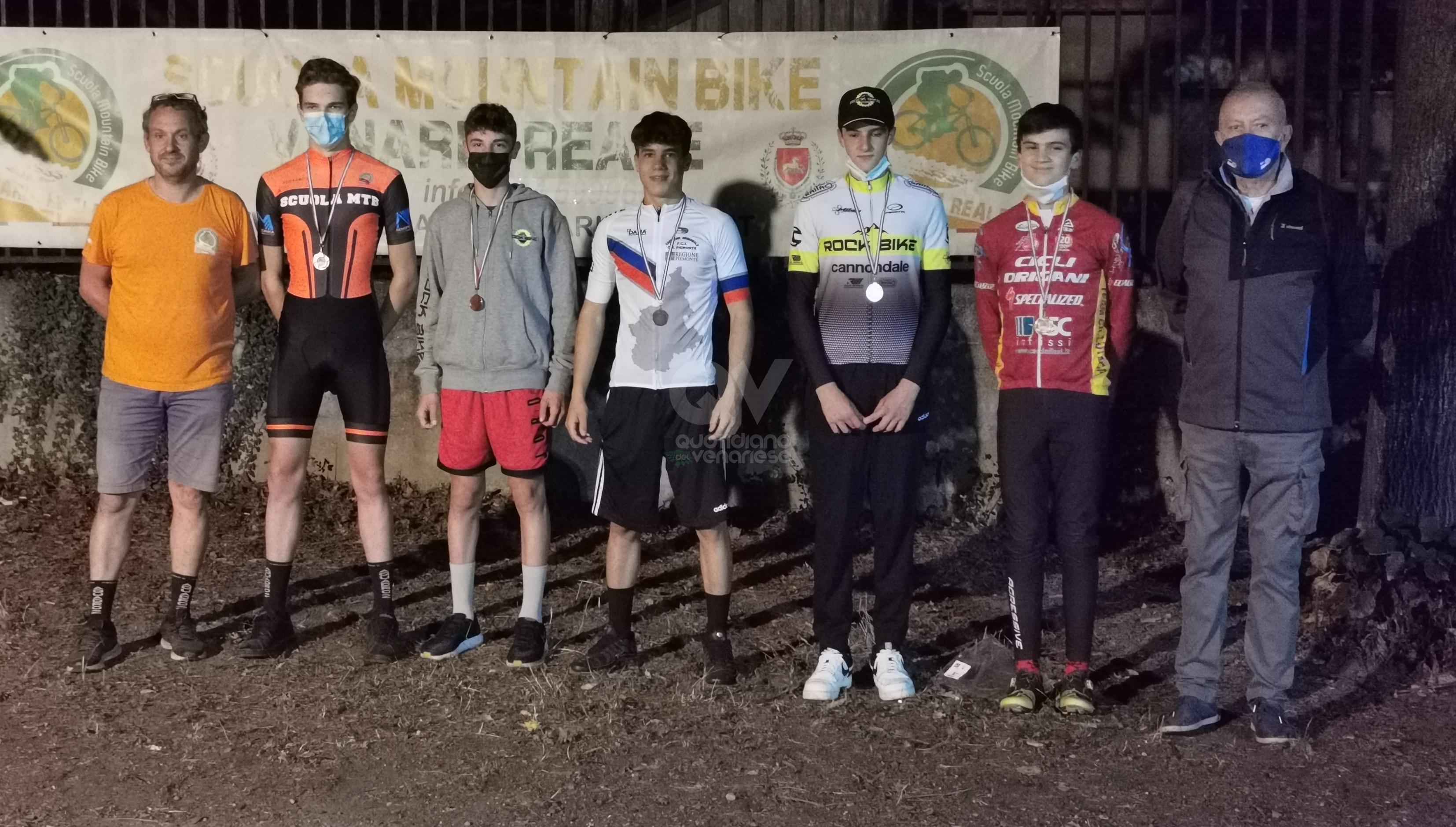 VENARIA - Memorial Maria Porello in Novo di mountain bike: Francesco Stobbia campione regionale - FOTO
