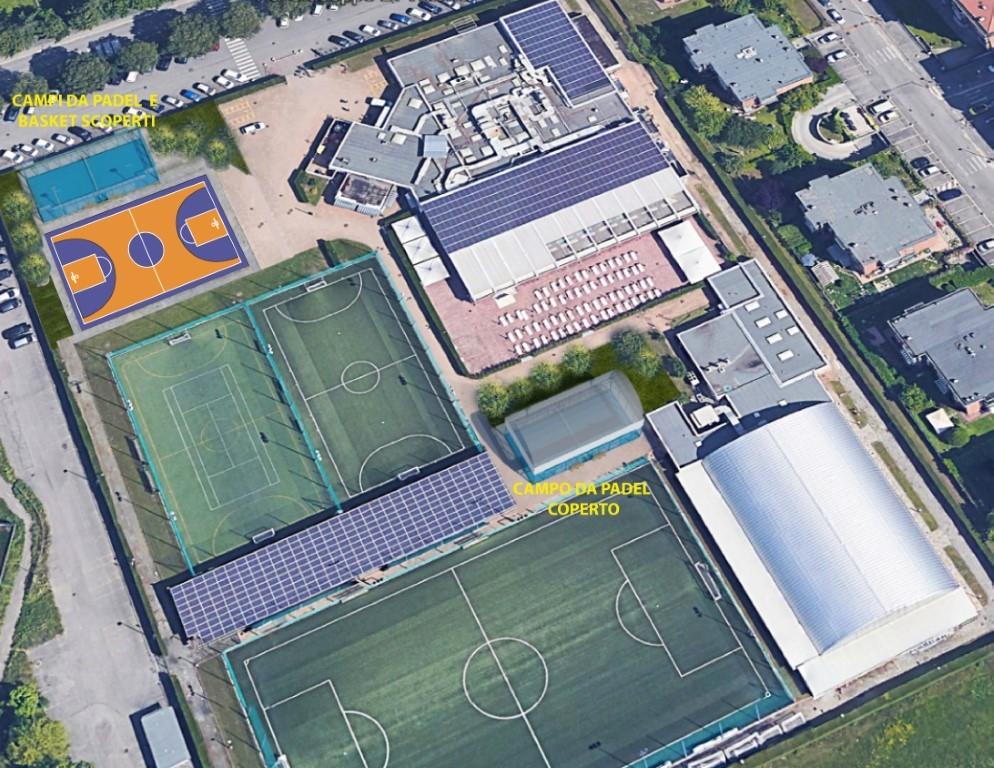 VENARIA - Allo Sport Club in arrivo due campi da paddle e un campo da basket