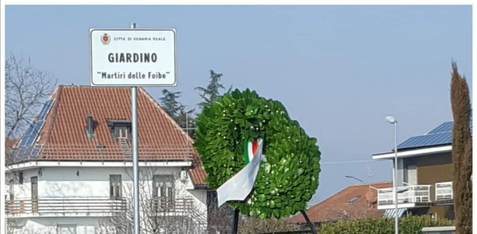 VENARIA - Mercoledì pomeriggio la commemorazione del «Giorno del Ricordo»