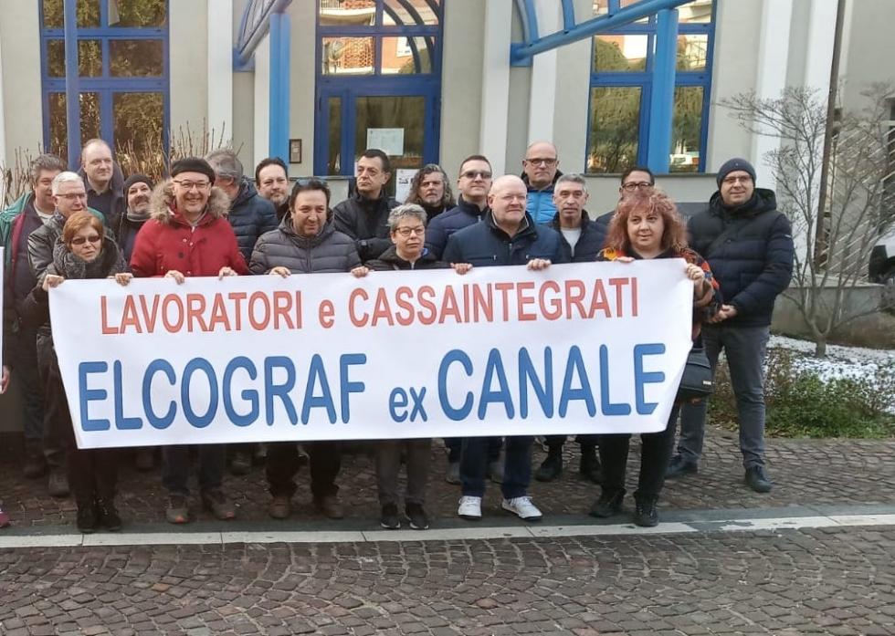 BORGARO - Crisi Elcograf: Da settembre tavoli di mediazione in Regione a cadenza mensile