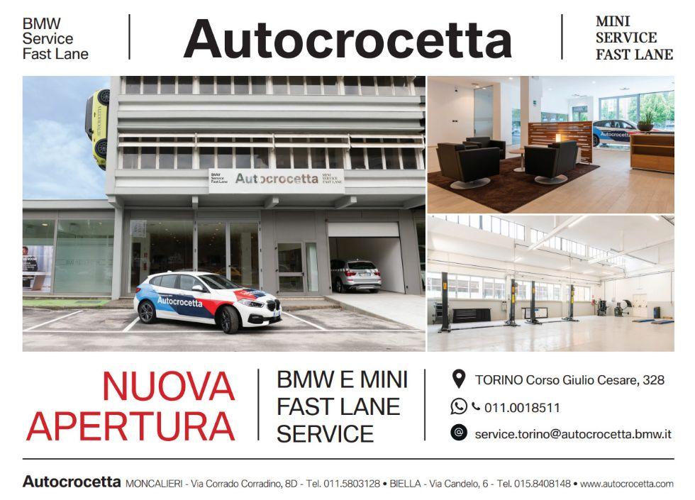 Autocrocetta apre il «BMW E MINI FAST LANE» in corso Giulio Cesare a Torino