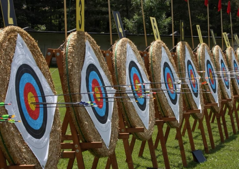 VENARIA - Torna in città il tiro con l'arco: week-end di gare sul campo del Sentiero Selvaggio